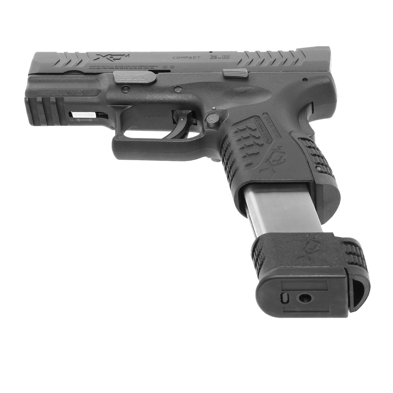 Springfield XDM Compact CO2-Luftpistole 4,5mm BB Blowback 5