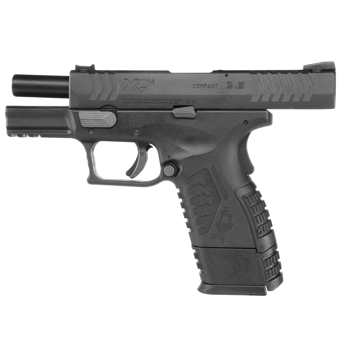 Springfield XDM Compact CO2-Luftpistole 4,5mm BB Blowback 6