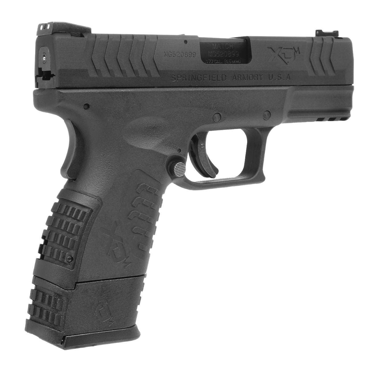 Springfield XDM Compact CO2-Luftpistole 4,5mm BB Blowback 7