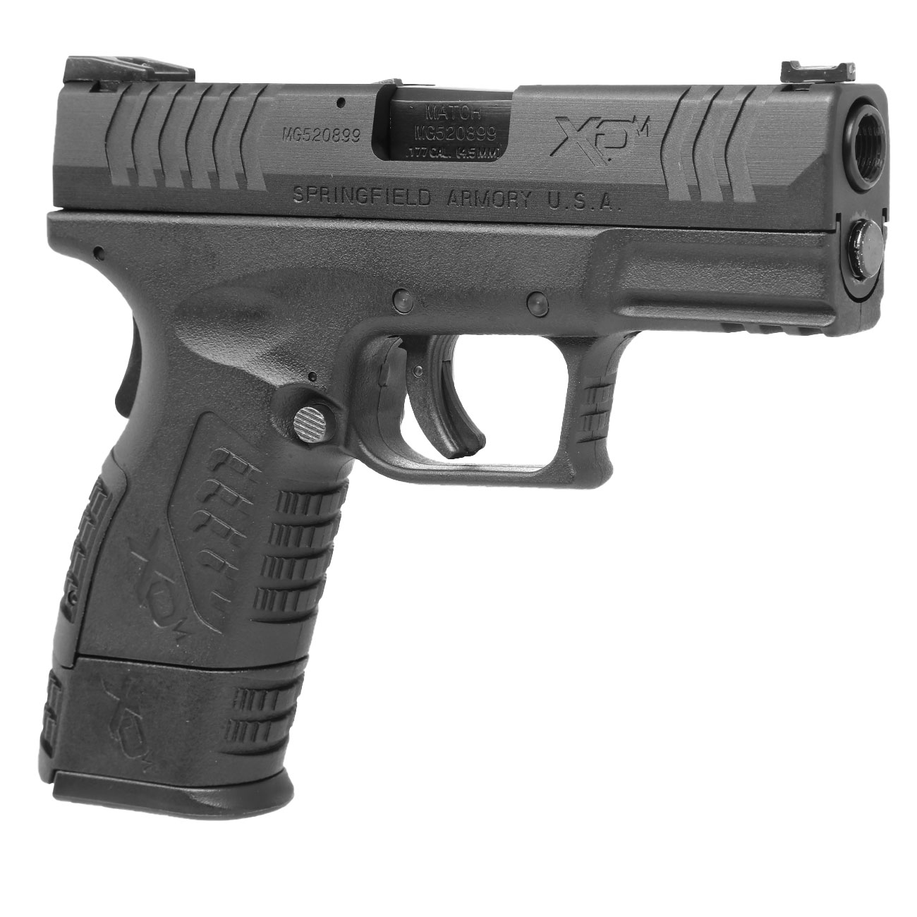 Springfield XDM Compact CO2-Luftpistole 4,5mm BB Blowback 8
