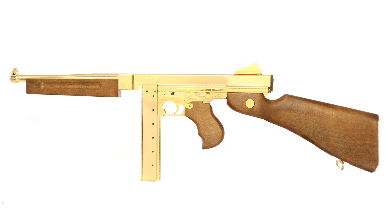 Legends M1A1 Legendary CO2-Luftgewehr Blowback Kal. 4,5 mm Stahl-BB Gold-Edition 0
