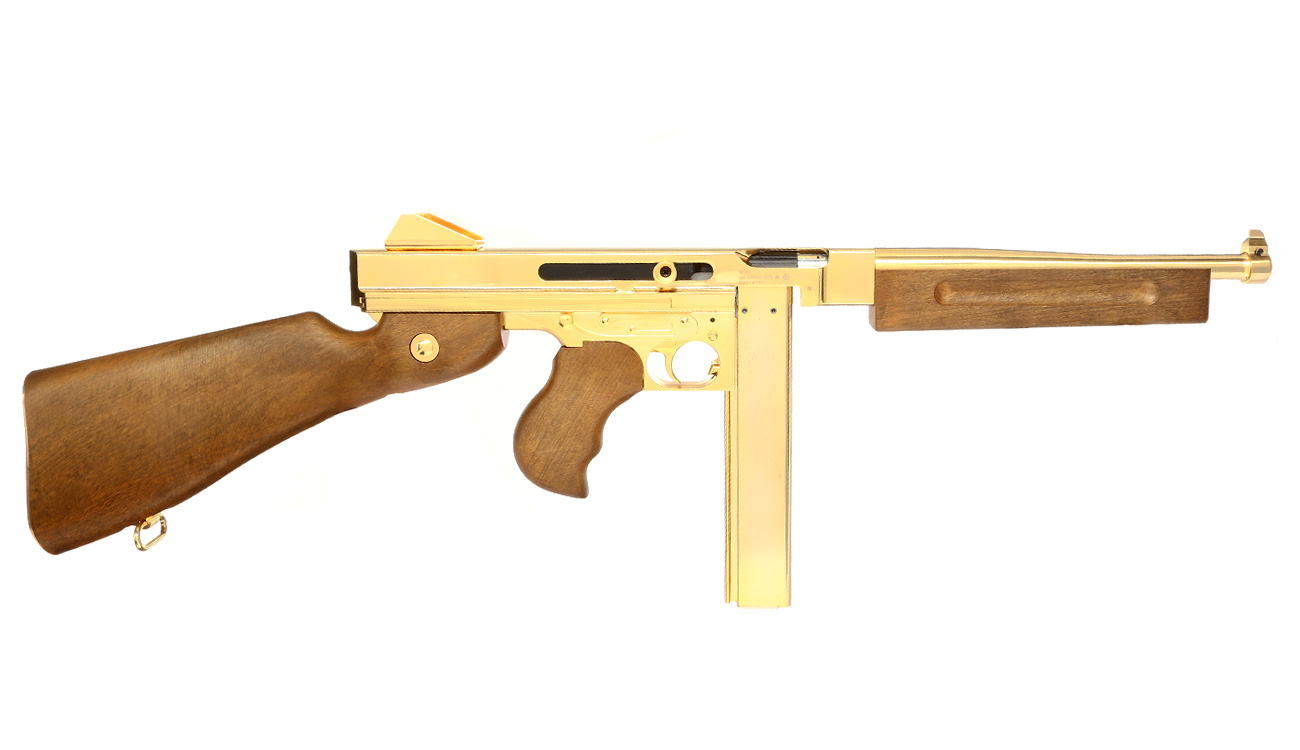 Legends M1A1 Legendary CO2-Luftgewehr Blowback Kal. 4,5 mm Stahl-BB Gold-Edition 3