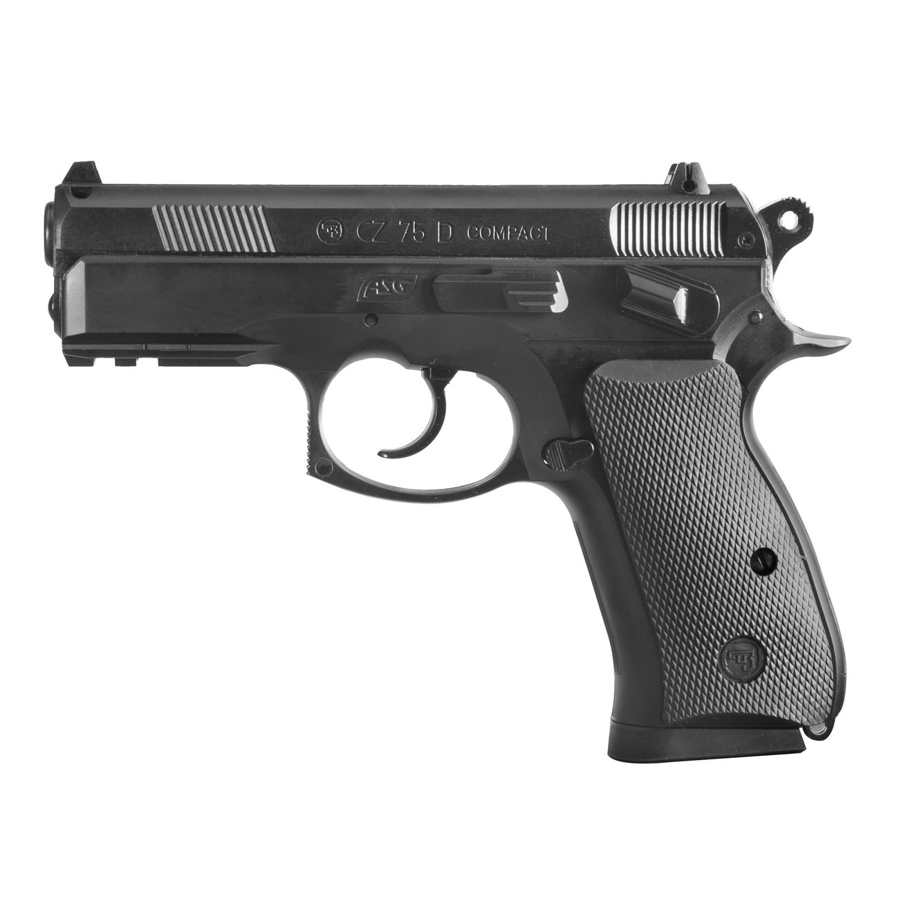 ASG CZ 75D Compact CO2 Luftpistole 4,5mm BB 0