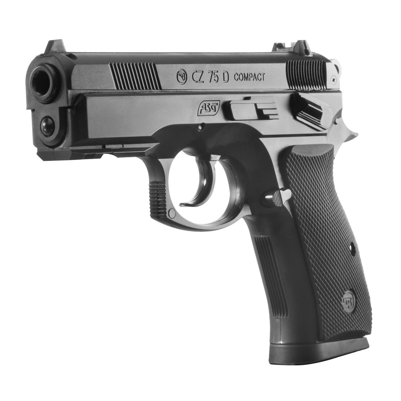 ASG CZ 75D Compact CO2 Luftpistole 4,5mm BB 1
