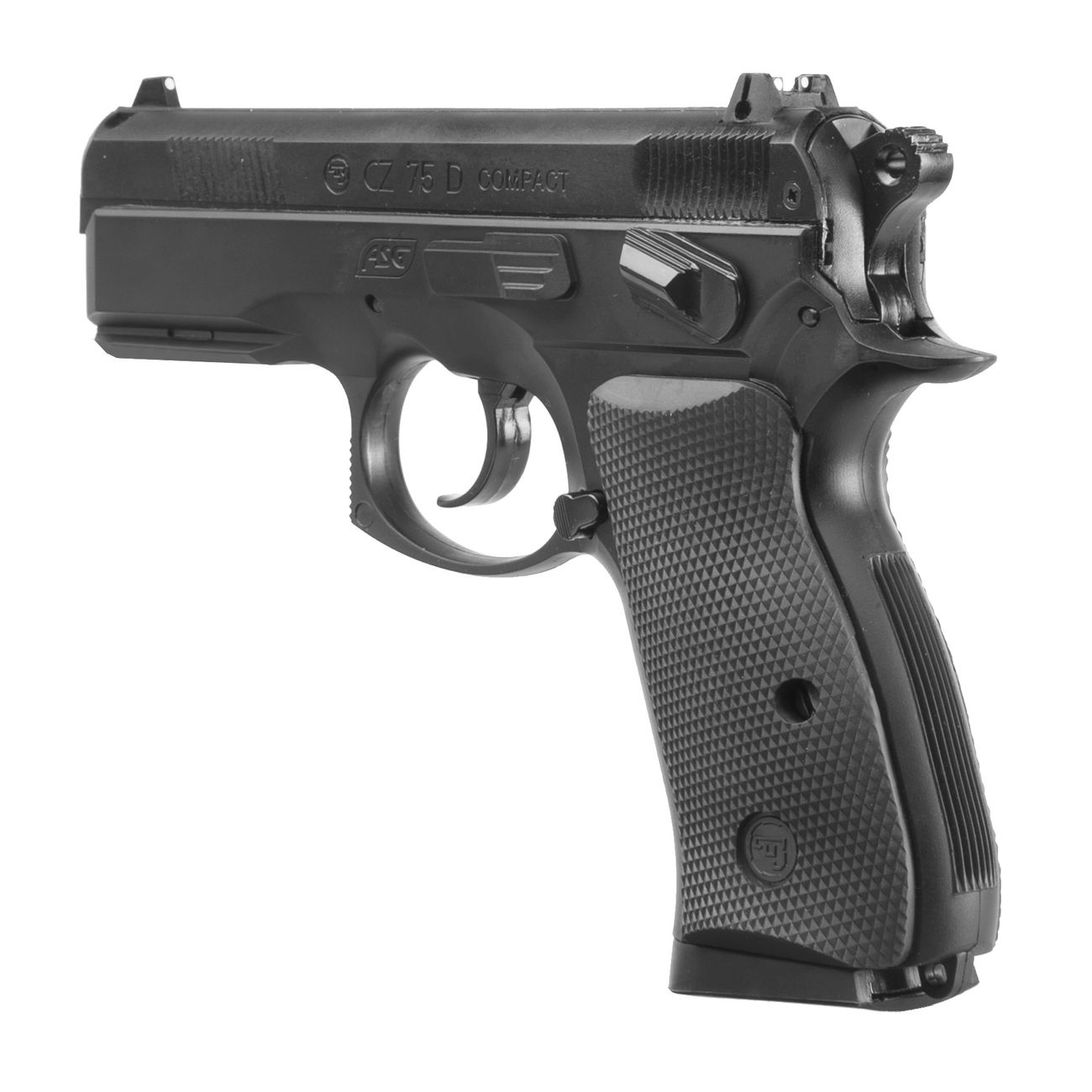 ASG CZ 75D Compact CO2 Luftpistole 4,5mm BB 2