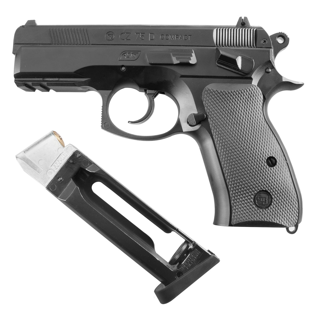 ASG CZ 75D Compact CO2 Luftpistole 4,5mm BB 3
