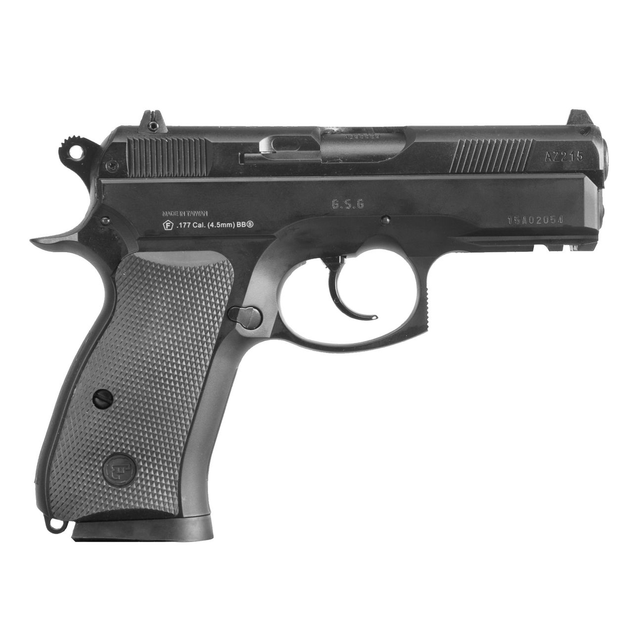 ASG CZ 75D Compact CO2 Luftpistole 4,5mm BB 4