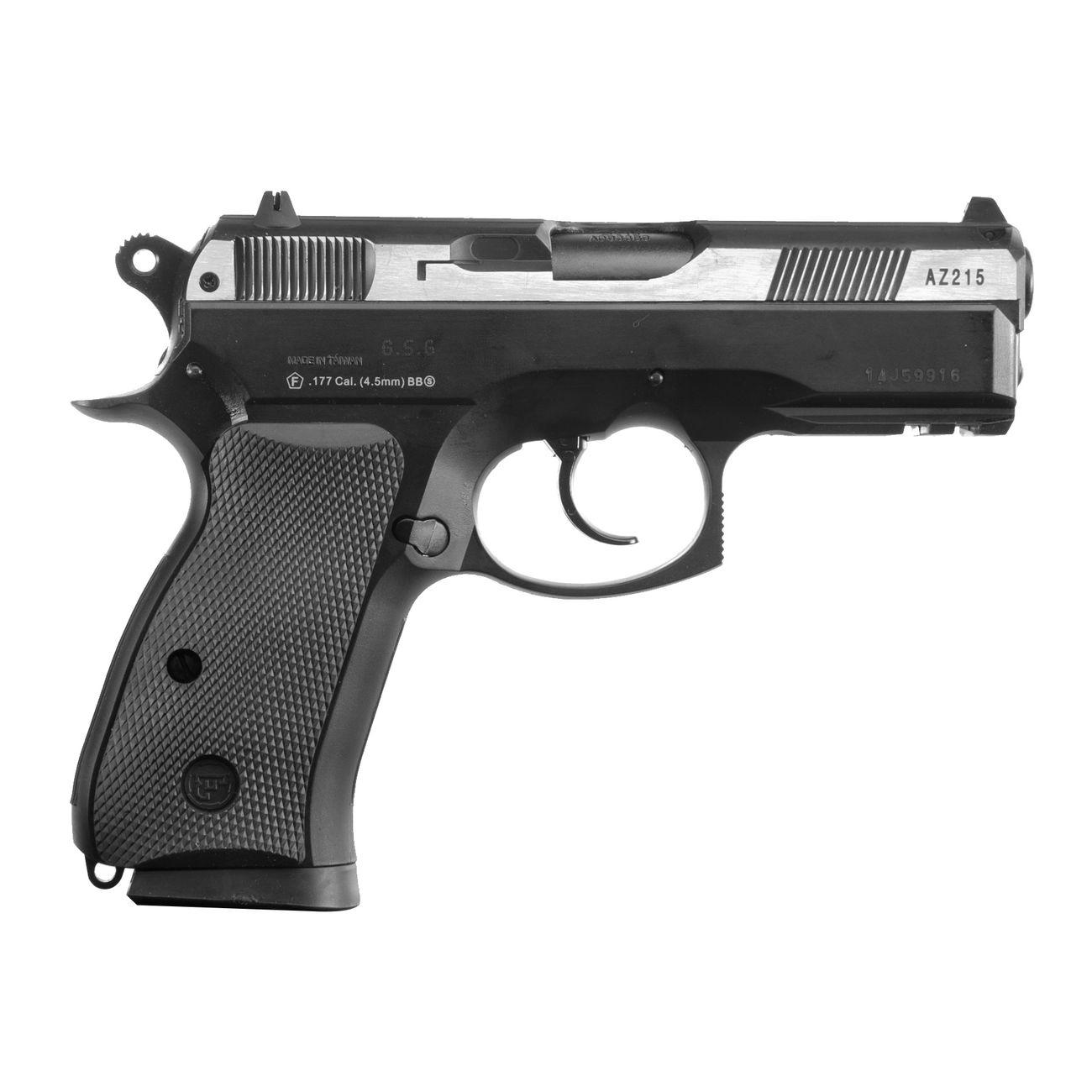asg cz 75d compact m metallschlitten 4 5mm bb co2 pistole. Black Bedroom Furniture Sets. Home Design Ideas