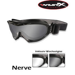 Wiley X Brille Nerve schwarz