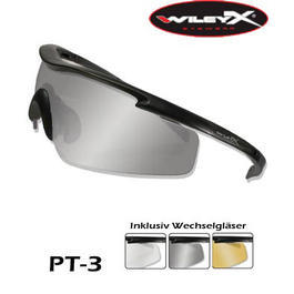 Wiley X Brille PT-3 schwarz
