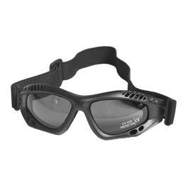 Mil-Tec Brille Commando Air-Pro smoke schwarz