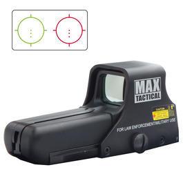 Paintball Waffen - MAX Tactical 552 Holosight rot /gün dot schwarz