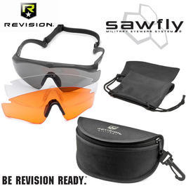 Revision Brille Sawfly MAX-Wrap Mission Kit DLX schwarz