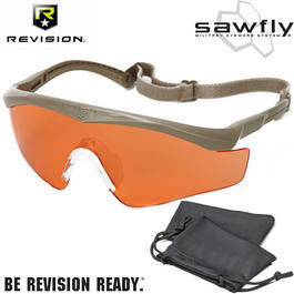 Revision Brille Sawfly MAX-Wrap Basic Kit vermillion / sand