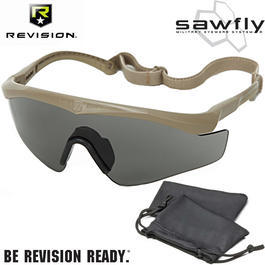 Revision Brille Sawfly MAX-Wrap Basic Kit smoke / sand