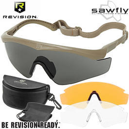 Revision Brille Sawfly MAX-Wrap Mission Kit DLX sand