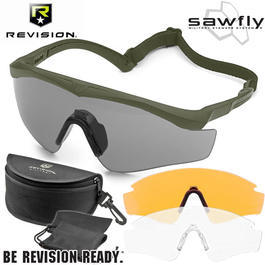 Revision Brille Sawfly MAX-Wrap Mission Kit DLX Foliage Green