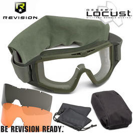 Revision Brille Desert Locust Mission Kit DLX oliv