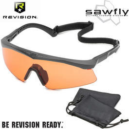 Revision Brille Sawfly US Basic Kit vermillion / schwarz