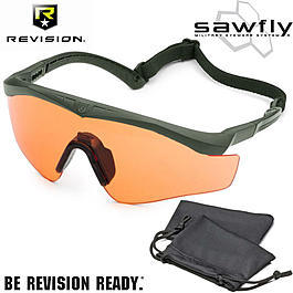 Revision Brille Sawfly MAX-Wrap Basic Kit vermillion / foliage green