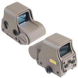 AABB AB3-2 Red- / Green-Dot Holosight Tan