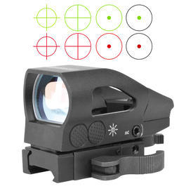 Swiss Arms Leuchtpunktzielgerät Red & Green Dot Sight