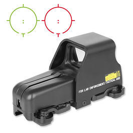 Aim-O 553 Type Holosight rot/grün schwarz AO 5019-BK