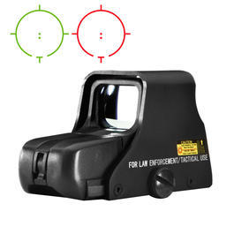 Aim-O 551 Type Holosight rot/grün schwarz AO 5017-BK