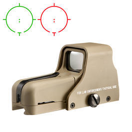 Aim-O 552 Type Holosight rot/grün tan AO 5018-DE