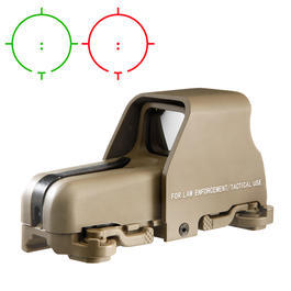 Aim-O 553 Type Holosight rot/grün Tan AO 5019-DE