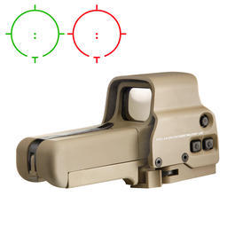 Aim-O 558 Type Holosight rot/grün tan AO 5064-DE