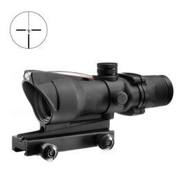 Aim-O TA01 Type Scope 4x32C bel. Fiber schwarz AO 1004-BK