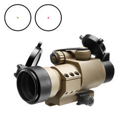 Aim-O Military-2 Type Red Dot Zielgerät mit L-Mount Tan AO 5020-DE