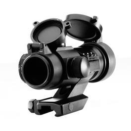 Aim-O Military-3 Type Red Dot Zielgerät mit Cantilever-Mount AO 3011-BK