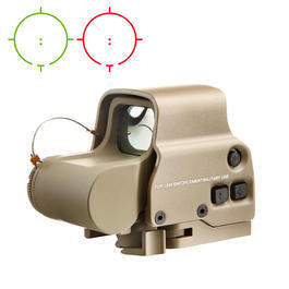 Aim-O X3 Type  Holosight rot/grün QD Mount tan AO 5063-DE