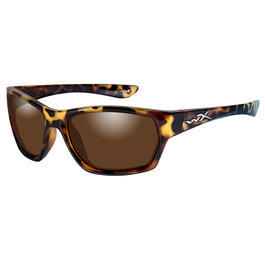Wiley X Brille Moxi animal print bronze flash polarisiert