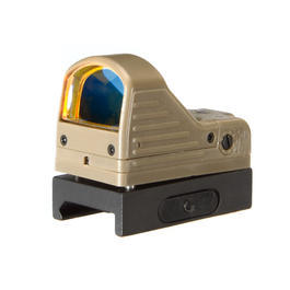 Element MRDS Mini Red-Dot Sight Leuchtpunktzielgerät inkl. QD 21mm Mount Tan