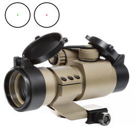 Aim-O Military-2 Type Red Dot Zielgerät mit Cantilever Mount tan AO 5033-DE
