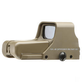 GK Tactical 552 Red- / Green-Dot Holosight tan