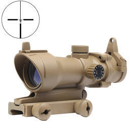 Aim-O TA01 Style Scope 4x32 beleuchtet tan AO 5318-DE