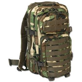 Rucksack US Assault Mil-Tec, woodland