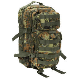 Rucksack US Assault Mil-Tec, flecktarn