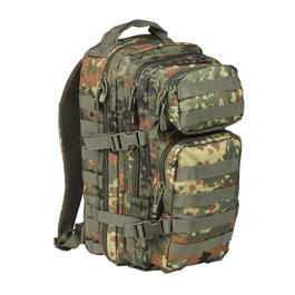 Mil-Tec Rucksack US Assault Pack I 20 Liter flecktarn
