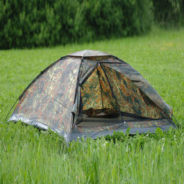 Mil-Tec Zelt für 2 Personen Iglu Standard flecktarn