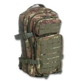 Rucksack US Assault Mil-Tec, vegetato