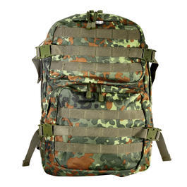 Rucksack US Assault II flecktarn