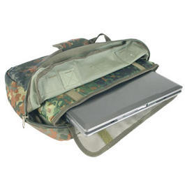Mil-Tec Computertasche, flecktarn