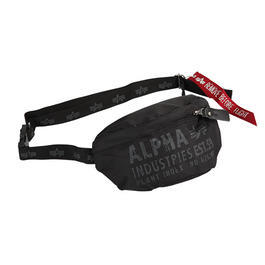 Alpha Cargo Oxford Waist Bag schwarz