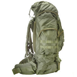Highlander Rucksack Modell New Forces 66 Liter oliv
