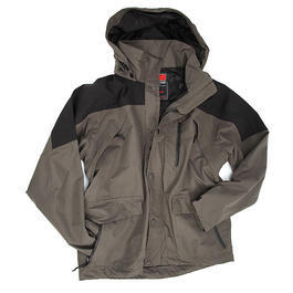 Regenjacke High Mountain MFH, schwarz/oliv